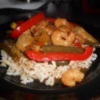 Shrimp w/ Homemade Stir Fry Sauce