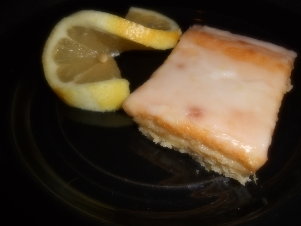 Magnificent Lemon Brownies
