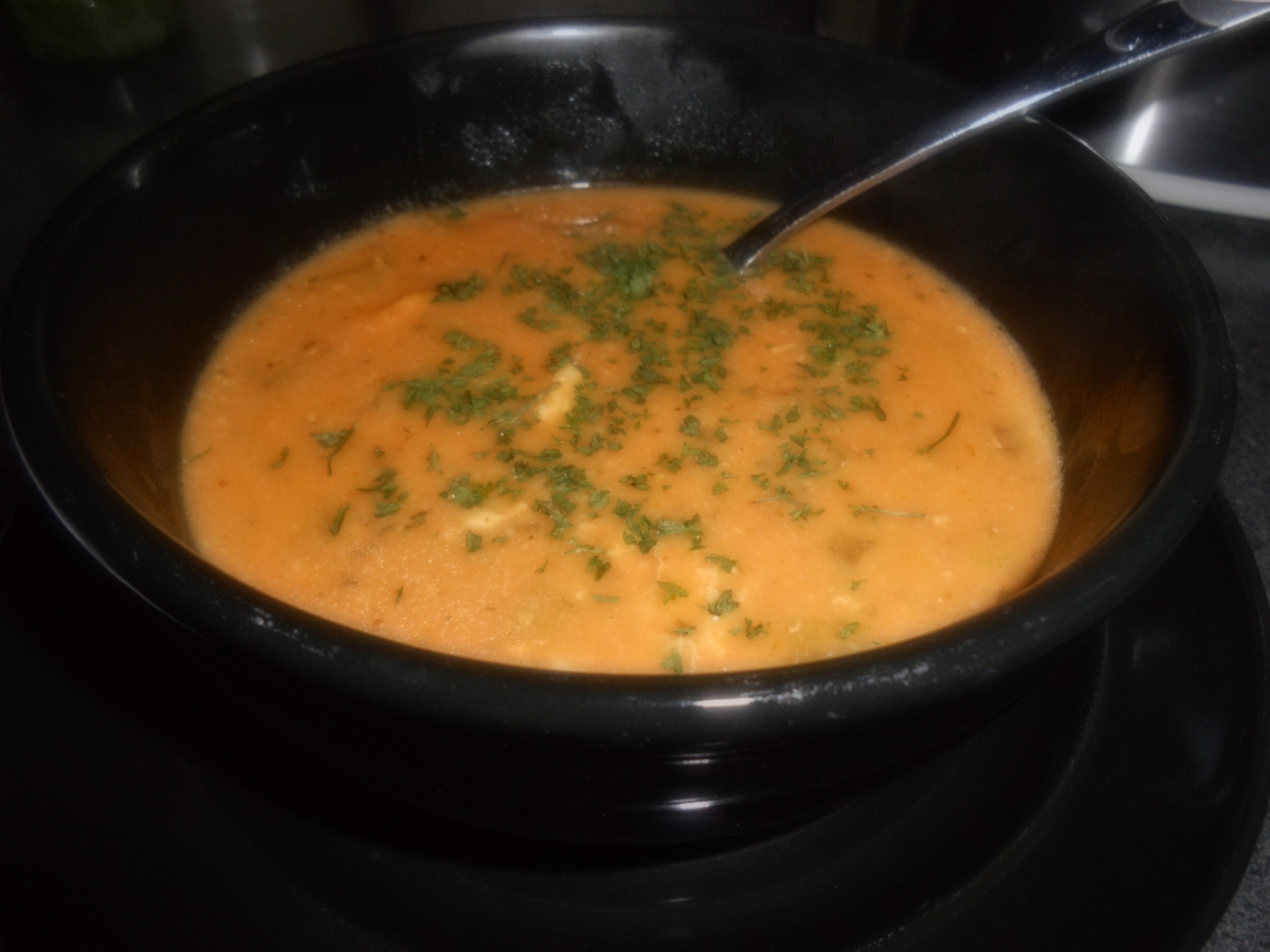 Thai-Style Chicken Pumpkin Soup
