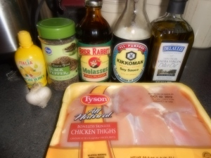 molasses galzed chicken ingredients
