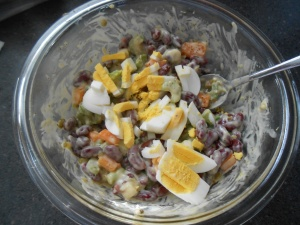 Kidney Bean salad 006
