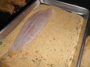lemon loaf and fried fish 026