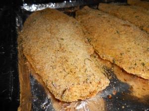 lemon loaf and fried fish 029