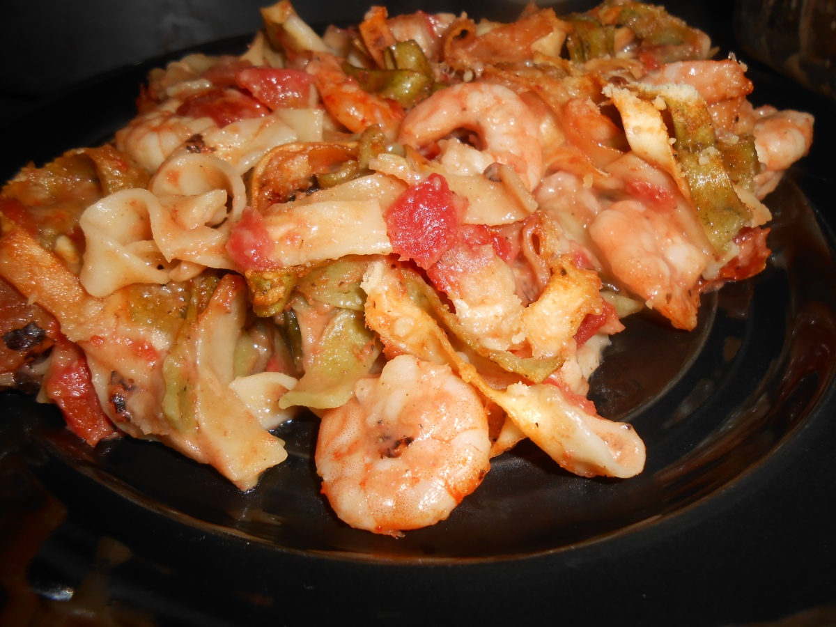 Shrimp Pasta Bake