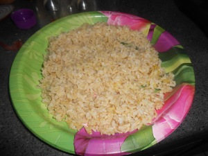 veggie fried rice 008
