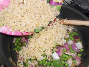 veggie fried rice 009