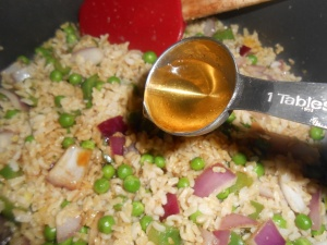 veggie fried rice 011