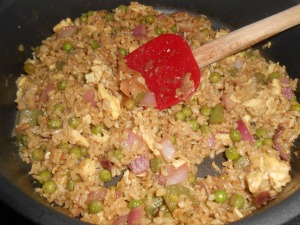 veggie fried rice 013