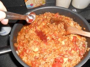 Chili mac casserole 016